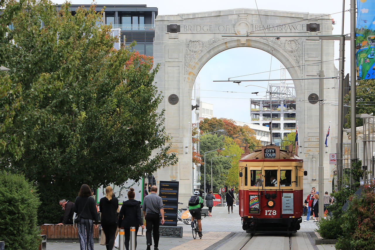 Christchurch: Tram - Interactive Tour Of Christchurch