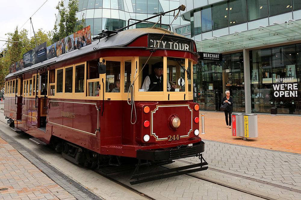 Tram - Interactive Tour of Christchurch | Christchurch Attractions